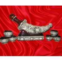 Набор «Кинжал» шамот 8 предмета (18 шт. в ящ.)