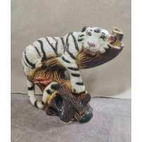 Копилка Тигр на ветке  (12 шт в ящ)