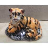 Копилка Тигр на монетах (18 шт в ящ)