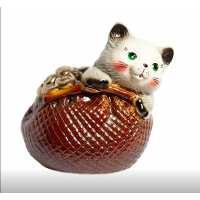 Копилка Кошка в кошельке (16 шт в ящ)