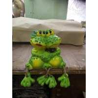 Копилка жабы парочка (18 шт в ящ)