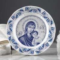 Тарелка Богородица 175 мм (60 шт в ящ)