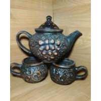 Чайный набор Традиционный 3пр кр.глина (19 шт. в ящ.)