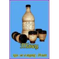 Винный набор 7 предметов Танец шамот (16 шт. в ящ.)