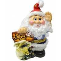 Дед Мороз №4 декор 41см (4 шт в ящ.)