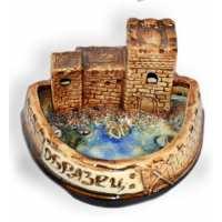Пепельница замок ( 100 шт в ящ.)