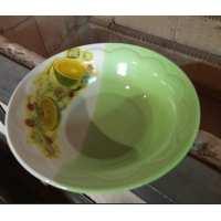 Тарелка Солнышко 0.5л глубокая лайм (40шт в ящ)