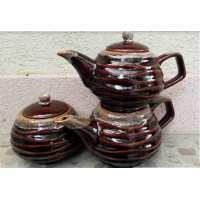 Чайный набор Волна 3 предмета (10 шт. в ящ.)