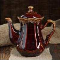 Чайник для заварки Ажур 1.2л коричневый (30 шт. в ящ.)
