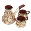 Турки и кофейные наборы