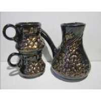 Кофейный набор Турка кофе+2 чашки бронза 3 предмета (16 шт. в ящ.)
