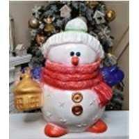 Статуэтка Снеговик Луня 50*50см (1 шт в ящ)