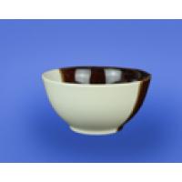 """Салатник """" Новый"""" 0,450 л бело-коричневый  (45 шт. в ящ.)"""