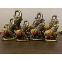 Набор Слонов медь (12 шт в ящ)